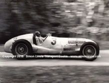 Mercedes W125 Manfred Von Brausitsch at speed 1937 Donington GP (B)
